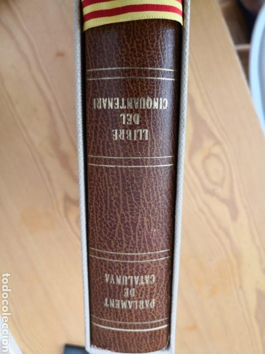 LLIBRE DEL CINQUANTENARI PARLAMENT DE CATALUNYA 1984 (Libros de Segunda Mano - Historia - Otros)