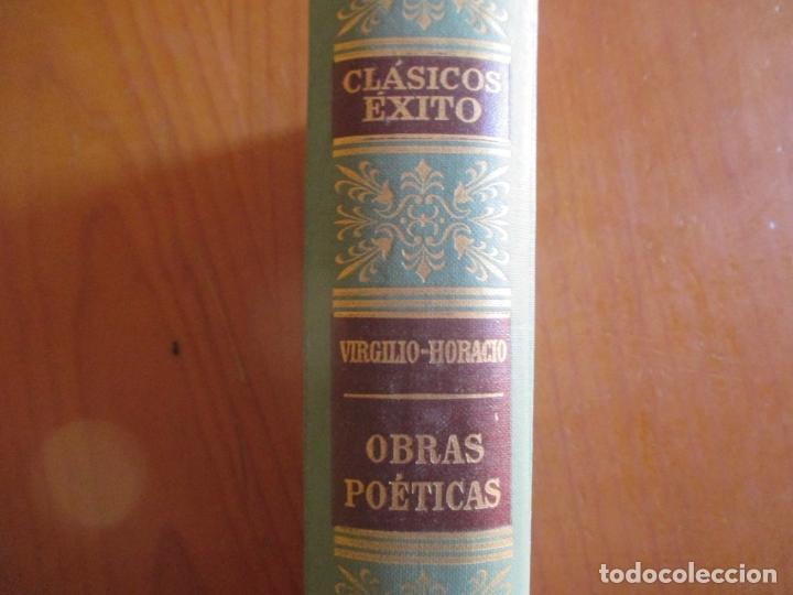 Libros de segunda mano: CLÁSICOS ÉXITOS. VIRGILIO HORACIO. OBRAS POÉTICAS. Nº 4. 1962 - Foto 5 - 169087752