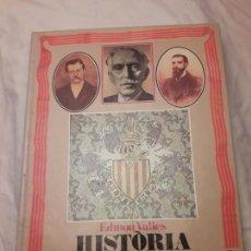 Libros de segunda mano: HISTORIA DE CATALUNYA EN IMATGES 1888 - 1931. Lote 169103568