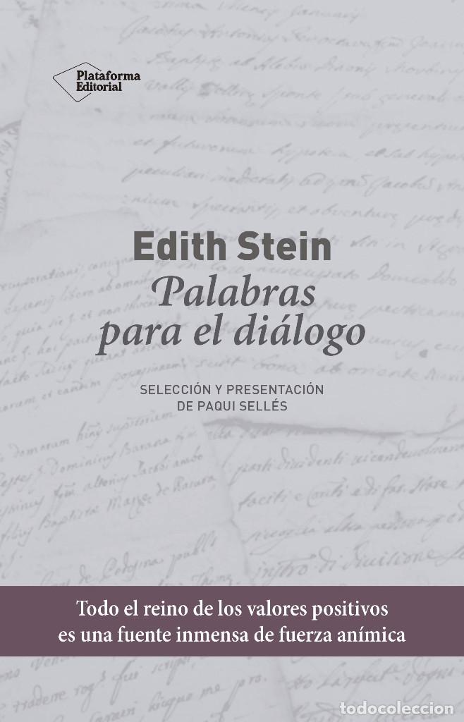 PALABRAS PARA EL DIÁLOGO (2019) - EDITH STEIN - ISBN: 9788417622435 (Libros de Segunda Mano - Pensamiento - Otros)