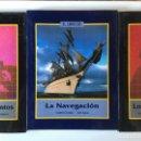 Libros de segunda mano: EL LIBRO DE LOS DESCUBRIMIENTOS Y LA NAVEGACIÓN - VICTOR NAVARRO ANDRÉS CORNEJO ANAYA 1982. EXPO 92. Lote 169181620