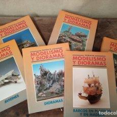 Libros de segunda mano: TÉCNICAS DE MODELISMO Y DIORAMAS. 6 TOMOS. EDICIONES GÉNESIS.MADRID. 1991.. Lote 169215664