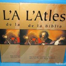 Libros de segunda mano: L'ATLES DE LA BÍBLIA. UN VIATGE SOCIAL I HISTÒRIC PER LES TERRES DE LA BÍBLIA.- BARRY J. B. Lote 169223480