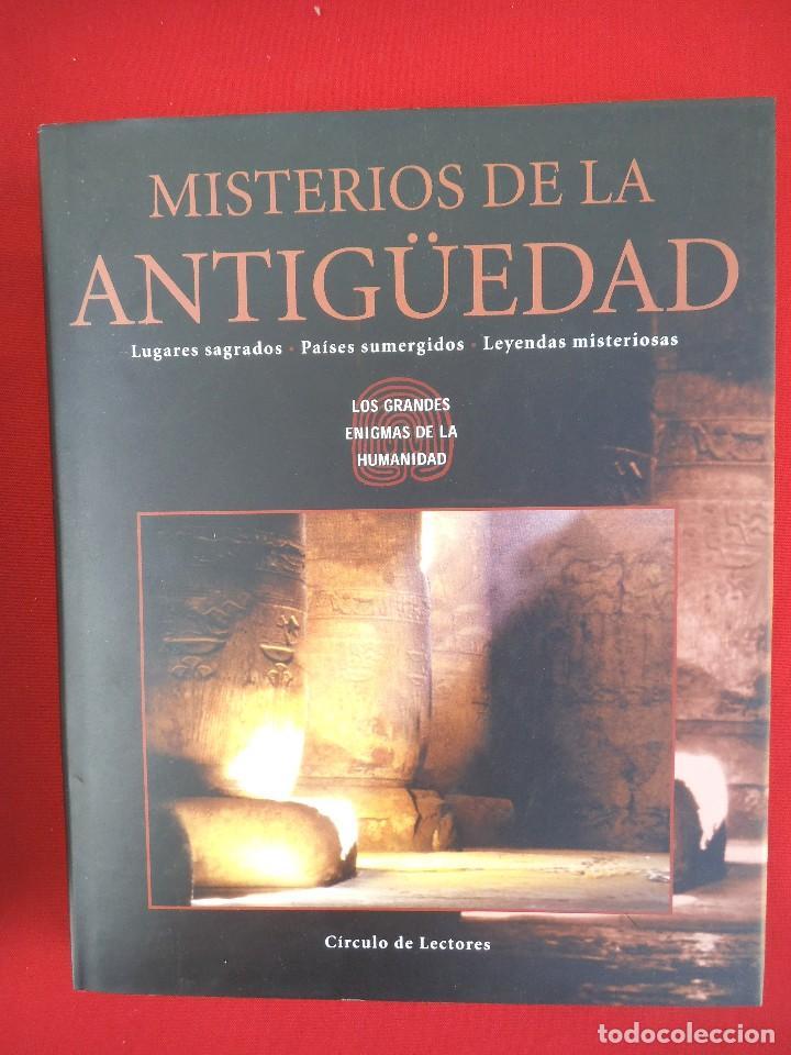MISTERIOS DE LA ANTIGÜEDAD / LUGARES SAGRADOS, PAÍSES SUMERGIDOS, LEYENDAS MISTERIOSAS (Libros de Segunda Mano - Parapsicología y Esoterismo - Otros)
