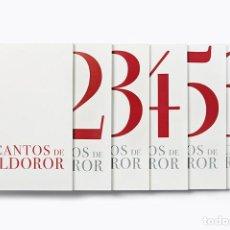 Libros de segunda mano: LOS CANTOS DE MALDOROR SALVADOR DALÍ - AGOTADO EDITORIAL ARTIKA PLANETA NO INCLUYE PLACA METÁLICA. Lote 169226536