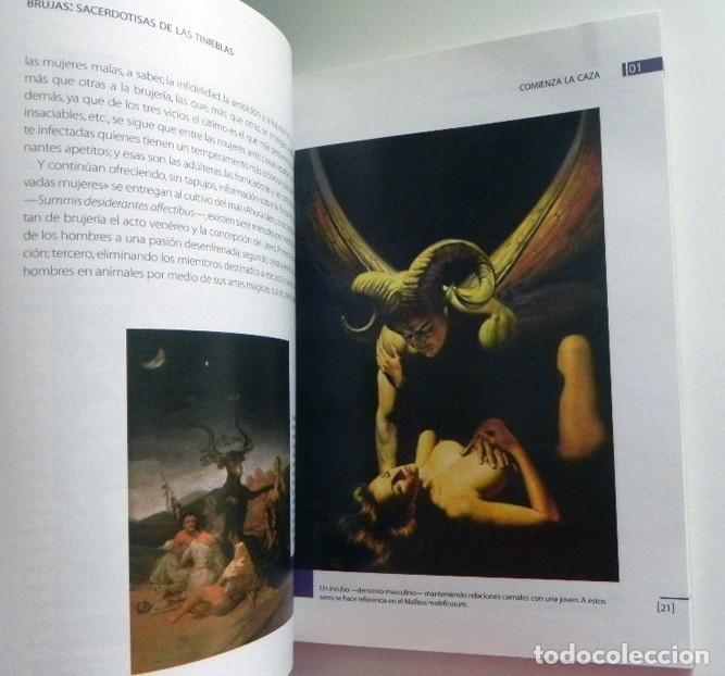 Libros de segunda mano: BRUJAS SACERDOTISAS DE LAS TINIEBLAS LOS HORRORES DE LA INQUISICIÓN - LIBRO MISTERIO AÑO CERO SALEM - Foto 4 - 169240260