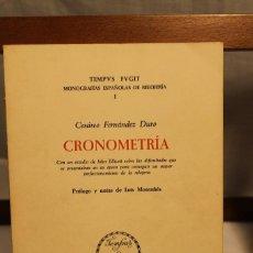 Libros de segunda mano: COLECCIÓN DE 10 VOLÚMENES TEMPVS FVGIT, MONOGRFÍAS ESPAÑOLAS DE RELOJERÍA. Lote 169242316