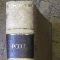 Libros de segunda mano: TOMOS II 1972. REVISTA INDICE ENCUADERNADA, Nº 311 A 320 AMBOS INCLUSIVE. 38 X 27 CM. . Lote 169268124