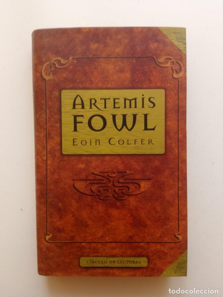 ARTEMIS FOWL - EOIN COLFER (Libros de Segunda Mano - Literatura Infantil y Juvenil - Otros)