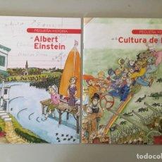 Libros de segunda mano: PEQUEÑA HISTORIA - ALBERT EINSTEIN Y CULTURA DE PAZ - EN FORMATO COMIC - RAREZA. Lote 169288444