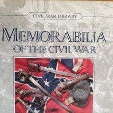 Libros de segunda mano: MEMORABILIA OF THE CIVIL WAR - W.C. DAVIS - UNIFORMES, EQUIPAMIENTOS, BANDERAS.... Lote 169307324