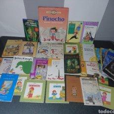 Libros de segunda mano: GRAN LOTE DE 25 LIBROS INFANTILES + REGALO. Lote 169310812