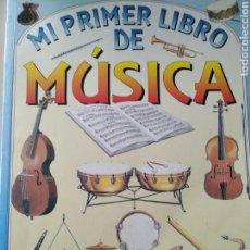 Libros de segunda mano: MI PRIMER LIBRO DE MÚSICA. SUSAETA. USBORNE 1996. RÚSTICA. PÁGINAS 48. PESO 300 GR.. Lote 169323601