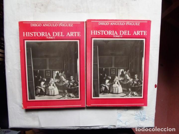 HISTORIA DEL ARTE DIEGO ANGULO IÑIGUEZ TOMOS I Y II (Libros de Segunda Mano - Historia - Otros)