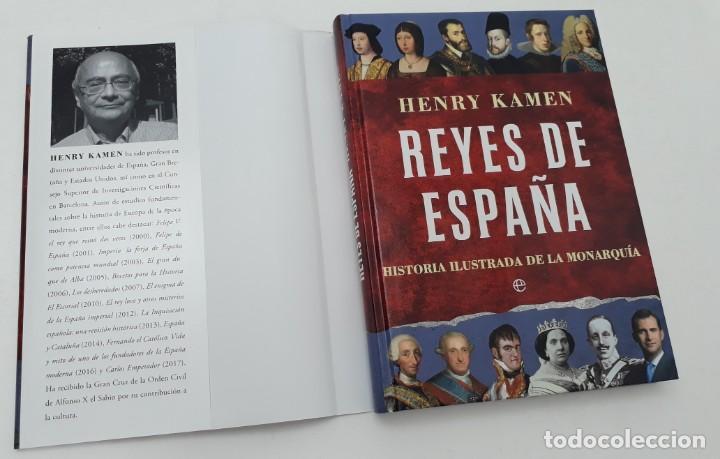 Libros de segunda mano: REYES DE ESPAÑA, AUTOR: HENRY KAMEN (ED.LA ESFERA DE LOS LIBROS,PRIMERA EDICIÓN 2017) - Foto 3 - 169355680