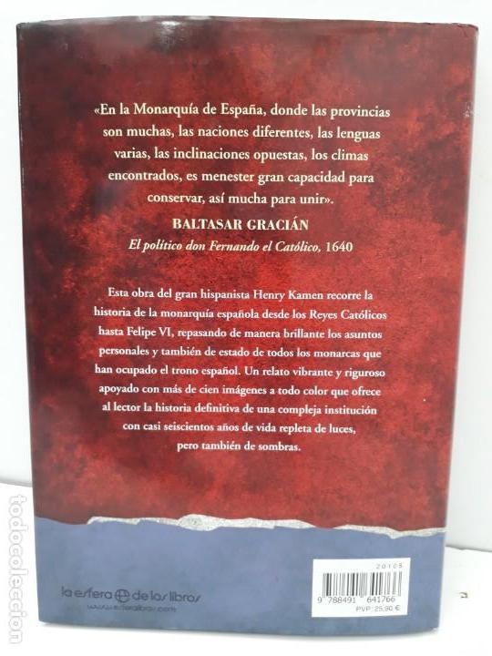 Libros de segunda mano: REYES DE ESPAÑA, AUTOR: HENRY KAMEN (ED.LA ESFERA DE LOS LIBROS,PRIMERA EDICIÓN 2017) - Foto 14 - 169355680