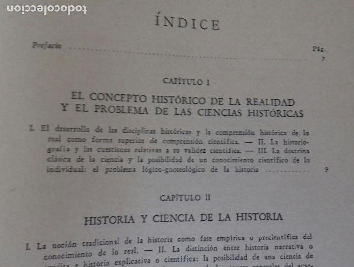 Libros de segunda mano: EL PROBLEMA DE LAS CIENCIAS HISTORICAS. ENRICO DE MICHELIS.ED. NOVA 1948. BUENOS AIRES. - Foto 4 - 169356412