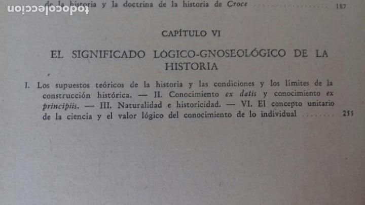 Libros de segunda mano: EL PROBLEMA DE LAS CIENCIAS HISTORICAS. ENRICO DE MICHELIS.ED. NOVA 1948. BUENOS AIRES. - Foto 8 - 169356412