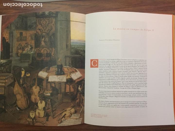 Libros de segunda mano: CATÁLOGO. Felipe II, un monarca y su época. La tierras y los hombres del rey. Valladolid, 1998. - Foto 3 - 169357452