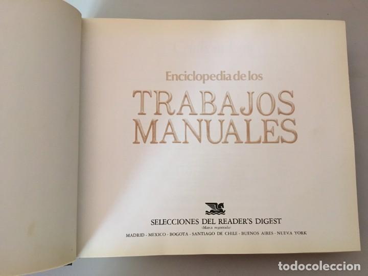 Libros de segunda mano: ENCICLOPEDIA DE LOS TRABAJOS MANUALES-Selecciones del Readers Digest-BRICOLAJE-CONSTRUCCIÓN - Foto 6 - 169371800