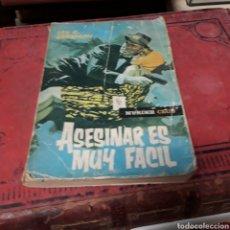 Libros de segunda mano: LOU C. CARRIGAN, ASESINAR ES MUY FÁCIL, ED.ROLLAN. Lote 169443509
