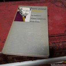Libros de segunda mano: EZRA POUND, CONFUCIO, ED LABOR. Lote 169444465