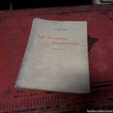 Libros de segunda mano: F. HERCZEG, LAS HERMANAS GYUKOVICS, COLECCIÓN UNIVERSAL. Lote 169444724