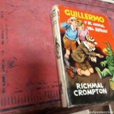 Libros de segunda mano: RICHMAL CROMPTON GUILLERMO Y EL ANIMAL DEL ESPACIO, ED MOLINO ,1959. Lote 169447649