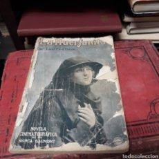 Libros de segunda mano: LUIS FEUILLADE, LA HUÉRFANITA,NOVELA CINEMATOGRÁFICA. Lote 169450392