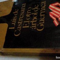 Libros de segunda mano: R K_ LIBRO VIEJO/EL OTRO ARBOL DE GUERNICA/LUIS DE CASTRESANA/MIDE APROXI 12X20CM 219PAGIN. Lote 169470824