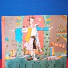 Libros de segunda mano: GULLIVER - JONATHAN SWIFT - JENKINS/RIDDELL - VICENS VIVES, 2004. Lote 169502858