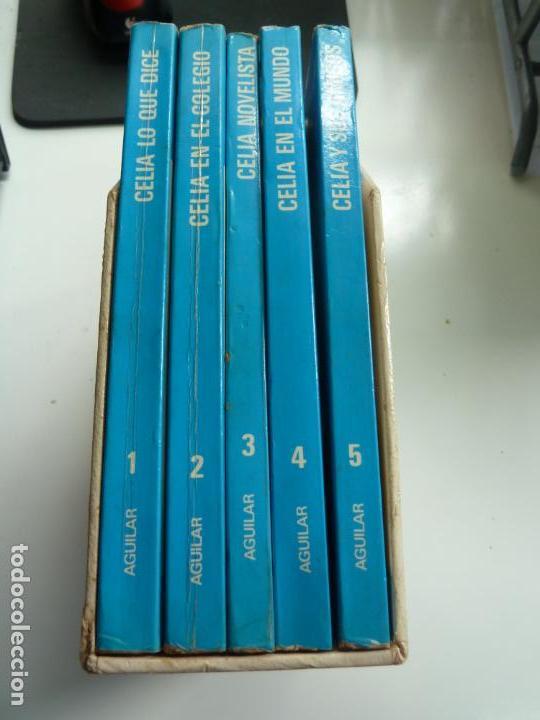 CELIA Y SU MUNDO. AGUILAR. ESTUCHE CON 5 TOMOS (Libros de Segunda Mano - Literatura Infantil y Juvenil - Otros)