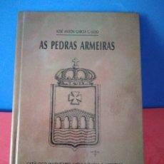 Libros de segunda mano: GALEGO-AS PEDRAS ARMEIRAS,CATÁLOGO-INVENTARIO MONUMENTAL E ARTÍSTICO DE CULLEREDO- X.A.GªG.LEDO,1992. Lote 169603546