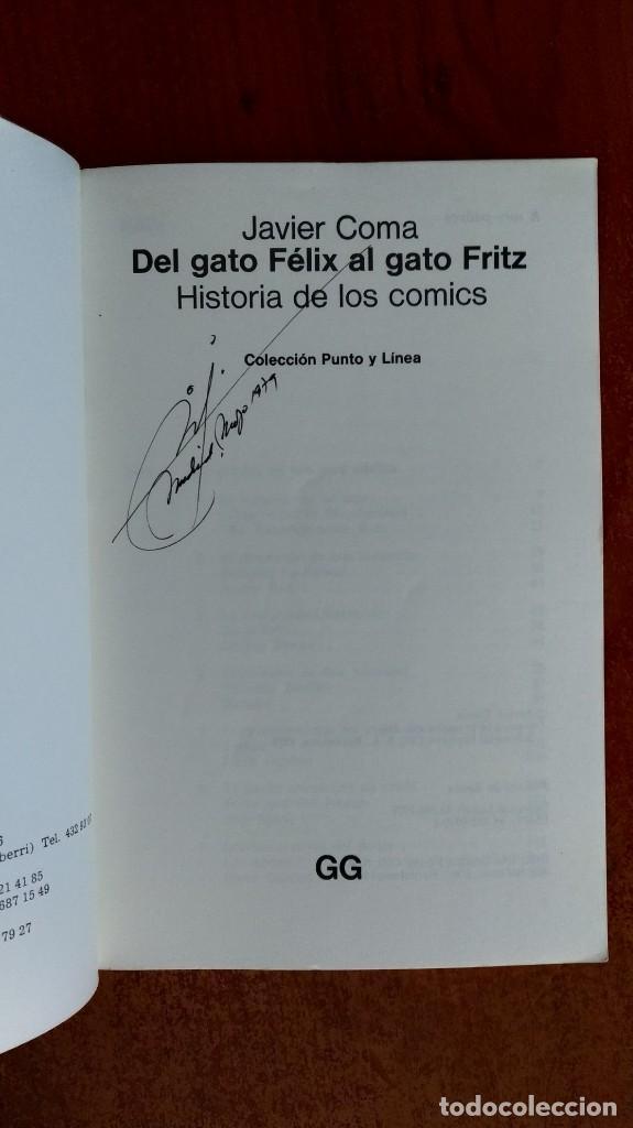 Libros de segunda mano: DEL GATO FELIX AL GATO FRITZ, Javier Coma - Foto 2 - 169665928