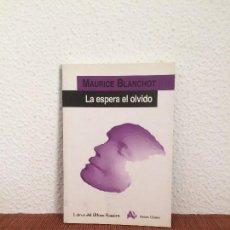 Libros de segunda mano: LA ESPERA EL OLVIDO - MAURICE BLANCHOT - ARENA LIBROS. Lote 169684940