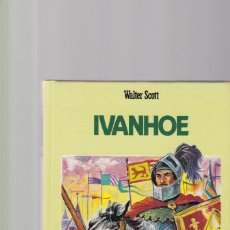 Libros de segunda mano: WALTER SCOTT - IVANHOE - GRAFALCO EDITORIAL 1988 / ILUSTRADO. Lote 169688332