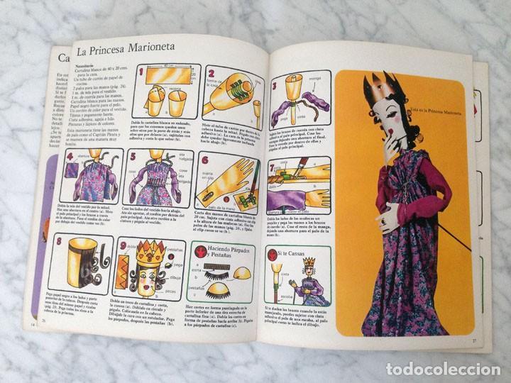 Libros de segunda mano: CÓMO HACER Y MANEJAR MARIONETAS - PLESA - 1975 - 1ª EDICIÓN - Foto 4 - 169704212