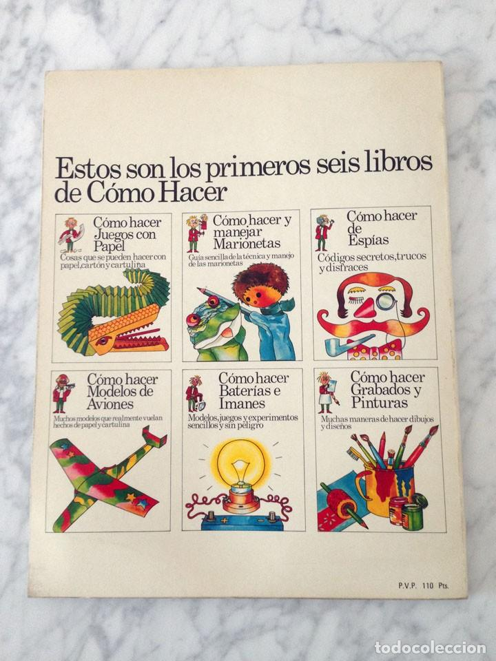 Libros de segunda mano: CÓMO HACER MODELOS DE AVIONES - PLESA - 1975 - 1ª EDICIÓN - Foto 2 - 169704360