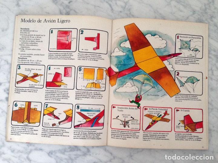 Libros de segunda mano: CÓMO HACER MODELOS DE AVIONES - PLESA - 1975 - 1ª EDICIÓN - Foto 4 - 169704360