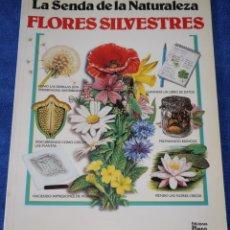 Libros de segunda mano: FLORES SILVESTRES - LA SENDA DE LA NATURALEZA - PLESA - EDICIONES SM ¡IMPECABLE!. Lote 169708260