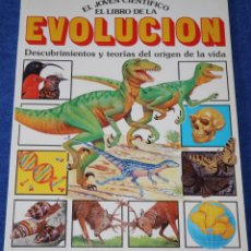 Libros de segunda mano: EL LIBRO DE LA EVOLUCIÓN - EL JOVEN CIENTÍFICO - PLESA - EDICIONES SM ¡IMPECABLE!. Lote 169708292