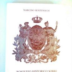 Libros de segunda mano: IMAGEN DEL EDITOR AUMENTAR LA IMAGEN BOSQUEJO HISTÓRICO SOBRE LA ORFEBRERÍA ESPAÑOLA. Lote 169827536