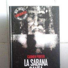 Libros de segunda mano: ENIGMAS SIN RESOLVER - IKER JIMENEZ – LA SÁBANA SANTA – EDAF - INCLUYE CD. Lote 169913704