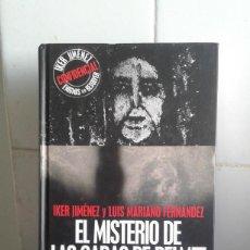 Libros de segunda mano: ENIGMAS SIN RESOLVER - IKER JIMENEZ – EL MISTERIO DE LAS CARAS DE BELMEZ – EDAF - INCLUYE CD. Lote 169914316