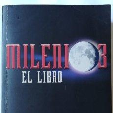 Libros de segunda mano: MILENIO 3 EL LIBRO . IKER JIMENEZ , CARMEN PORTER. Lote 169979552