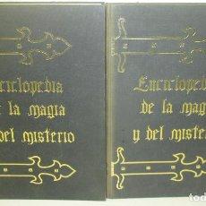Libros de segunda mano: ENCICLOPEDIA DE LA MAGIA Y DEL MISTERIO, 2 TOMOS, COMPLETA, ED. MATEU 1975. Lote 170056021