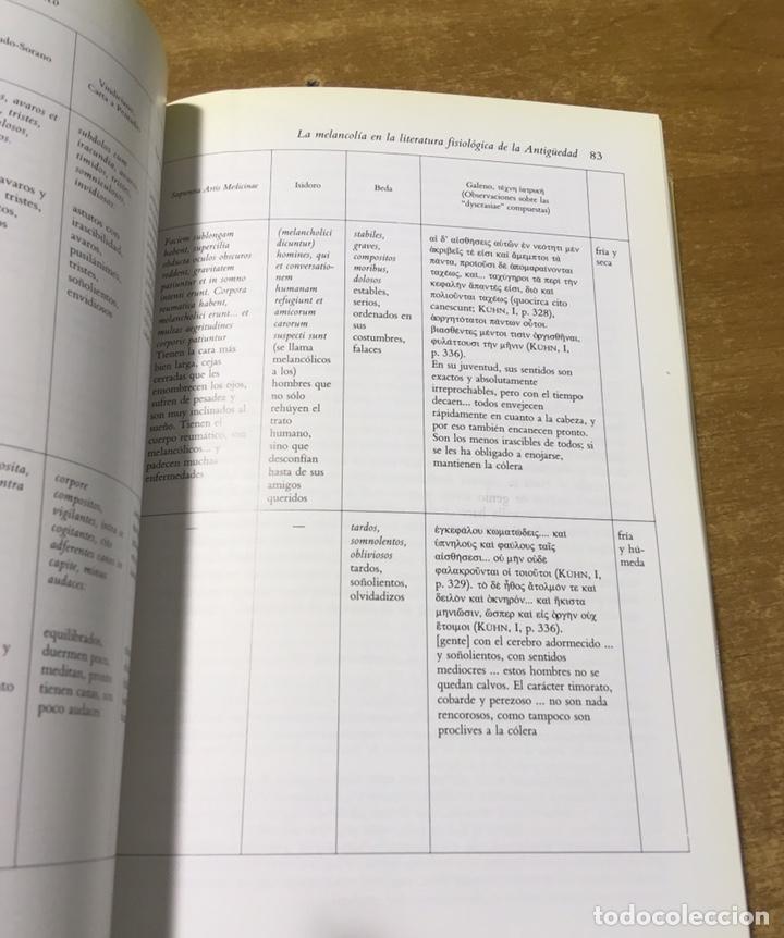 Libros de segunda mano: SATURNO Y LA MELANCOLÍA - ALIANZA FORMA - KLIBANSKY - PANOFSKY - SAXL - Foto 4 - 170078125
