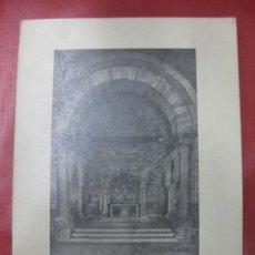 Libros de segunda mano: SANTA MARIA DE PORQUERAS. IGLESIA ROMANICA. SIGLO XII. GERONA 1971. Lote 170107624
