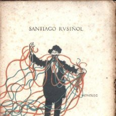 Libros de segunda mano: SANTIAGO RUSIÑOL : EL PRESTIDIGITADOR (L' AVENÇ, 1903) EN CATALÁN. Lote 170139352