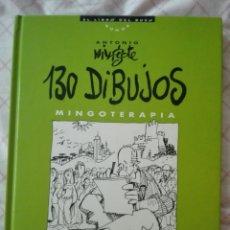 Libros de segunda mano: ANTONIO MINGOTE 130 DIBUJOS. MINGOTERAPIA. Lote 170140948